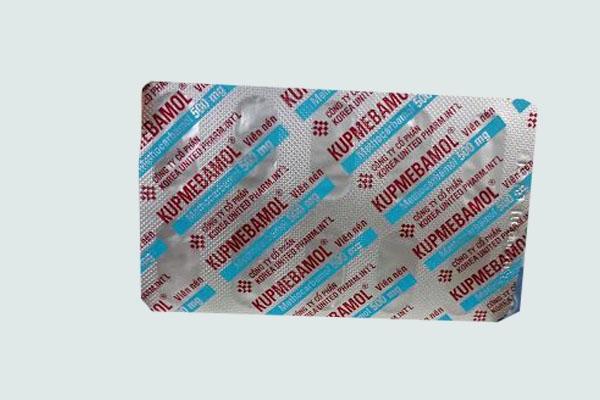 Vỉ thuốc Kupmebamol