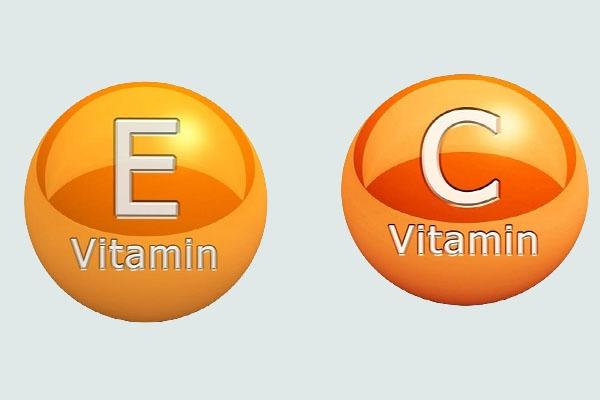 Vitamin E và Vitamin C