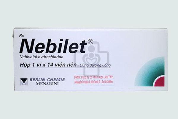 Vỏ hộp thuốc Nebilet