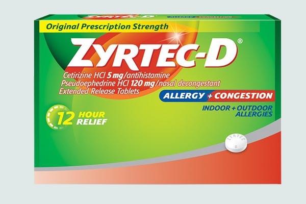 Thuốc Zyrtec-D