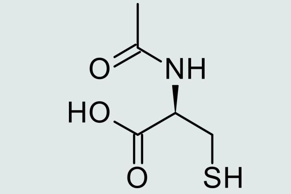 Công thức cấu tạo acetylcystein