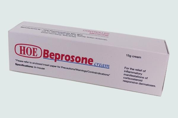 Hộp thuốc Beprosone