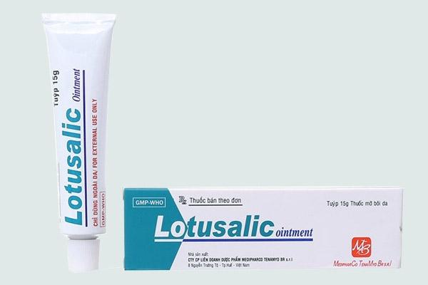 Hộp và typ thuốc Lotusalic