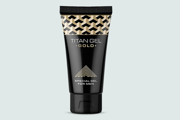 Lọ sản phẩm Titan gel gold