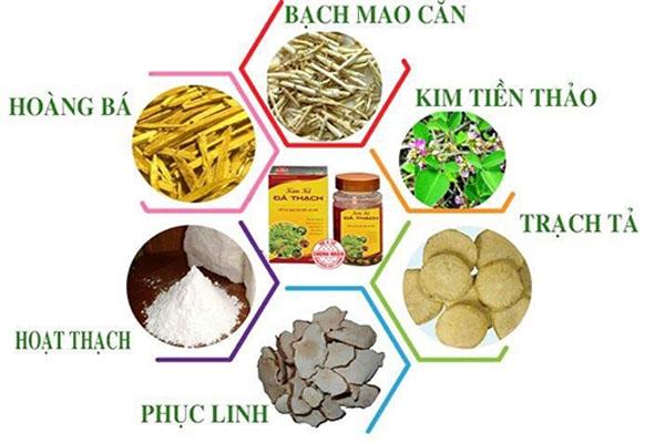 Thành phần của sản phẩm Kim Kê Đả Thach