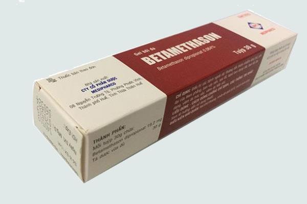 Hộp thuốc Betamethasone