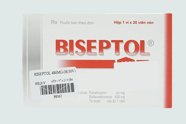 Hộp thuốc Biseptol