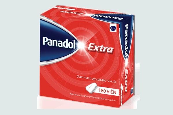 Hộp thuốc Panadol Extra