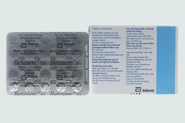 Thành phần Betaserc