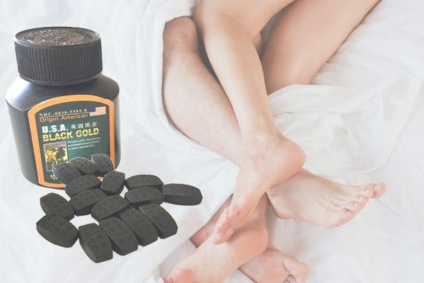 Usa black gold tốt cho bệnh nhân bị yếu sinh lý