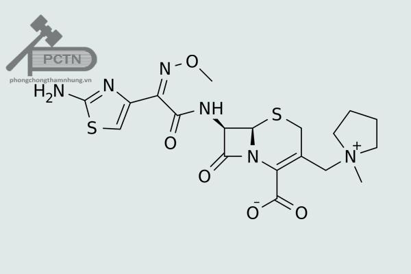 Công thức hóa học Cefepim
