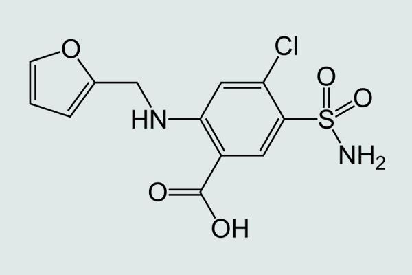 Công thức hóa học Furosemide