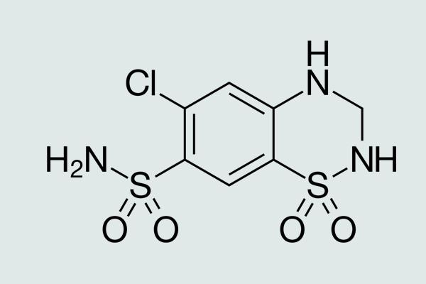 Công thức hóa học Hydroclothiazid