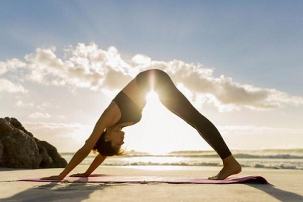 Một tư thế yoga