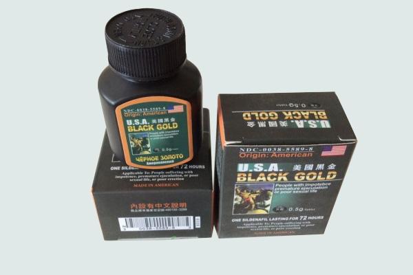 Hộp thuốc Usa black gold
