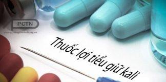 Thuốc lợi tiểu kali