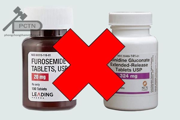 Tương tác thuốc furosemide và quinidine