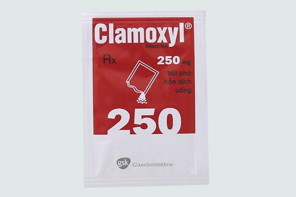 Gói thuốc Clamoxyl