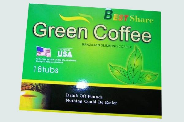 Hộp Trà giảm cân GREEN COFFEE