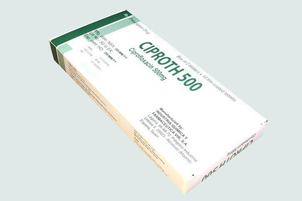 Hộp thuốc Ciproth 500