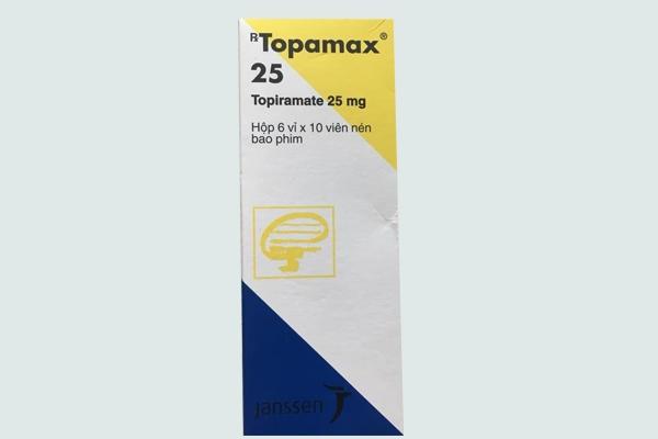 Hộp thuốc TOPAMAX