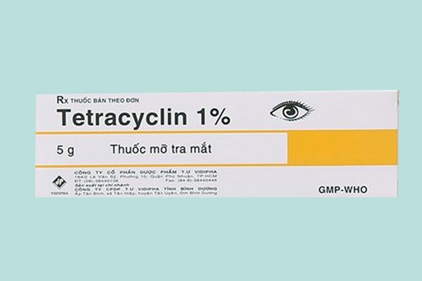 Hộp thuốc Tetracyclin