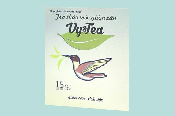 Hộp trà Vy tea