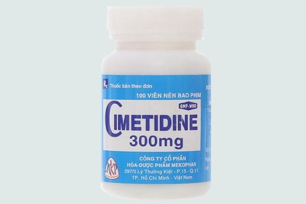 Lọ thuốc Cimetidine