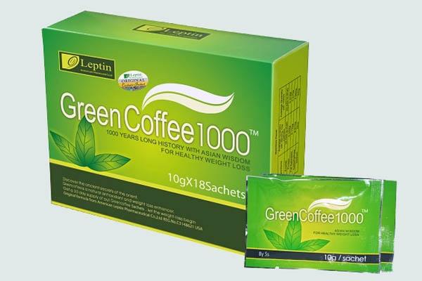 Sản phẩm Trà giảm cân GREEN COFFEE