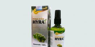 Hộp tinh dầu Hyra