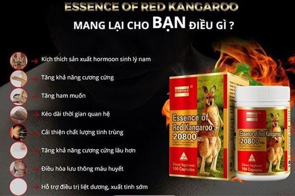Tác dụng của Essence of red kangaroo