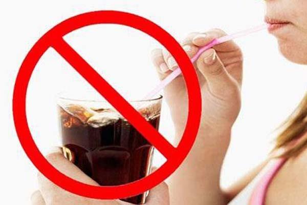 Uống nhiều đồ ngọt có thể gây béo phì