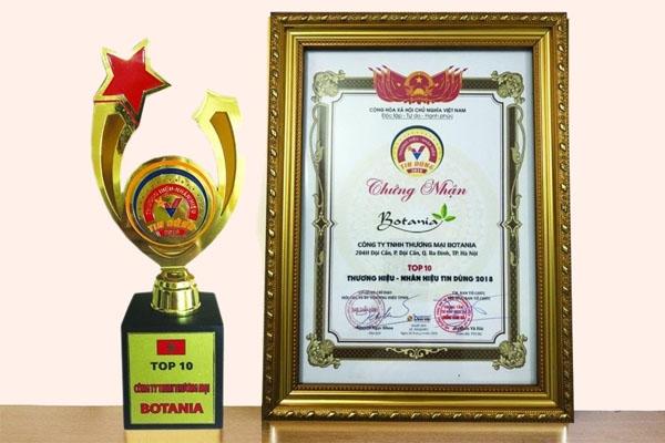 Công ty Botania là đơn vị hàng đầu trong kinh doanh các sản phẩm về sức khỏe
