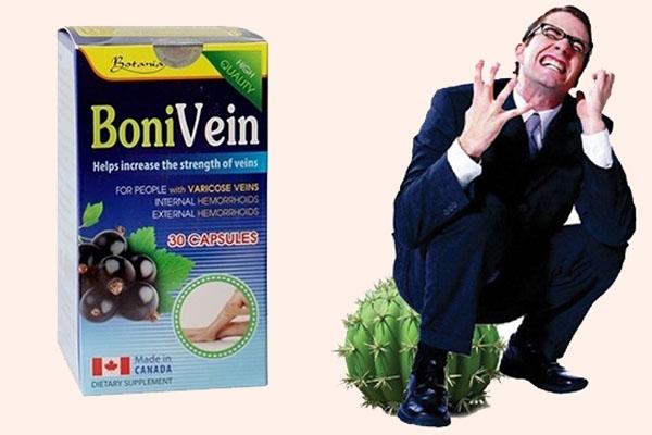 Bệnh nhân bị trĩ nên sử dụng Bonivein