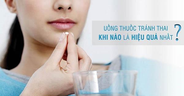 Sử dụng thuốc tránh thai càng sớm càng tốt