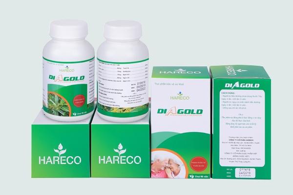 Viên uống hỗ trợ ổn định đường huyết - Diagold