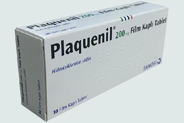 Hộp thuốc Plaquenil