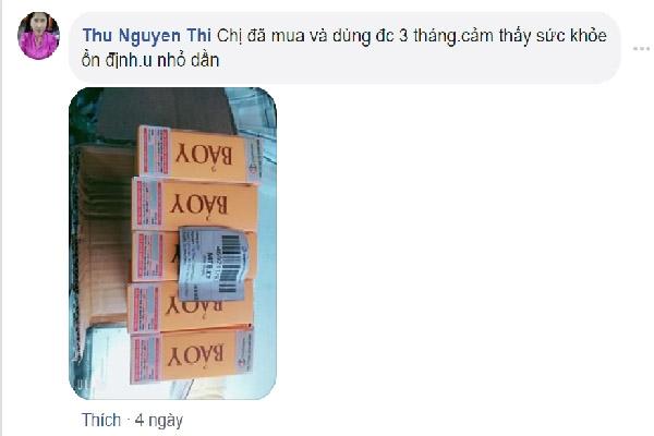 Phản hồi từ người dùng Thu Nguyen Thi