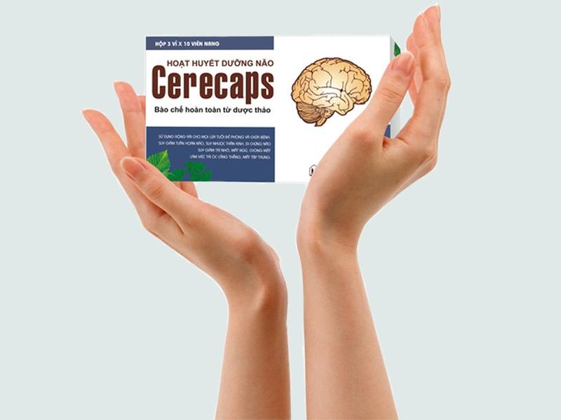 Cách sử dụng hoạt huyết dưỡng não Cerecaps