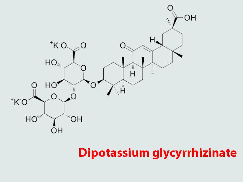Công thức óa học của Dipotassium glycyrrhizinate