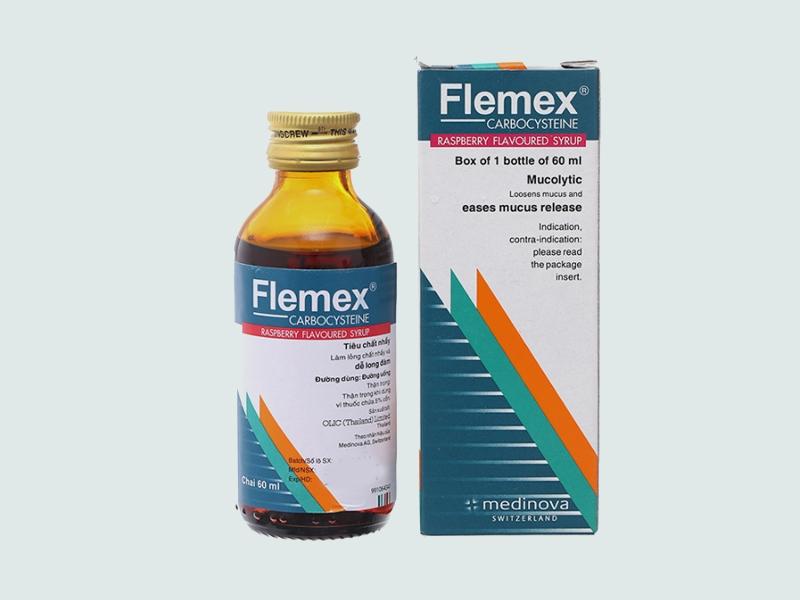 Siro Flemex chai 60 ml