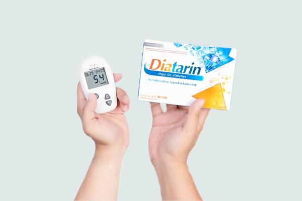 Sản phẩm Diatarin nhận được sự phản hồi rất tích cực từ người sử dụng