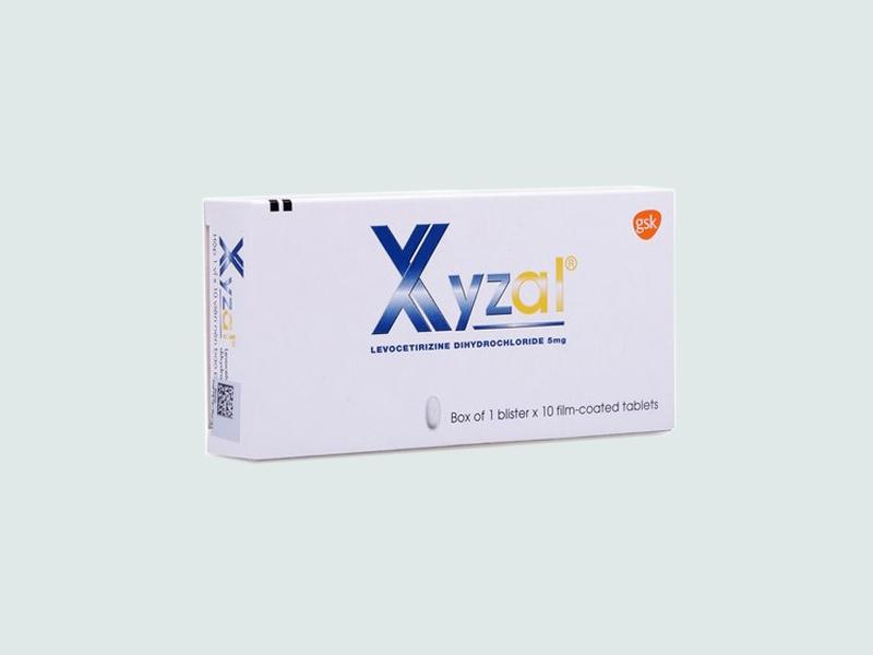 Hình ảnh: Hộp thuốc Xyzal
