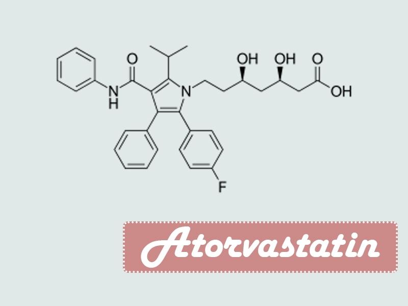 Công thức hóa học của Atorvastatin