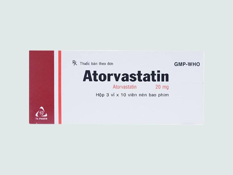 Thuốc Atorvastatin 20mg