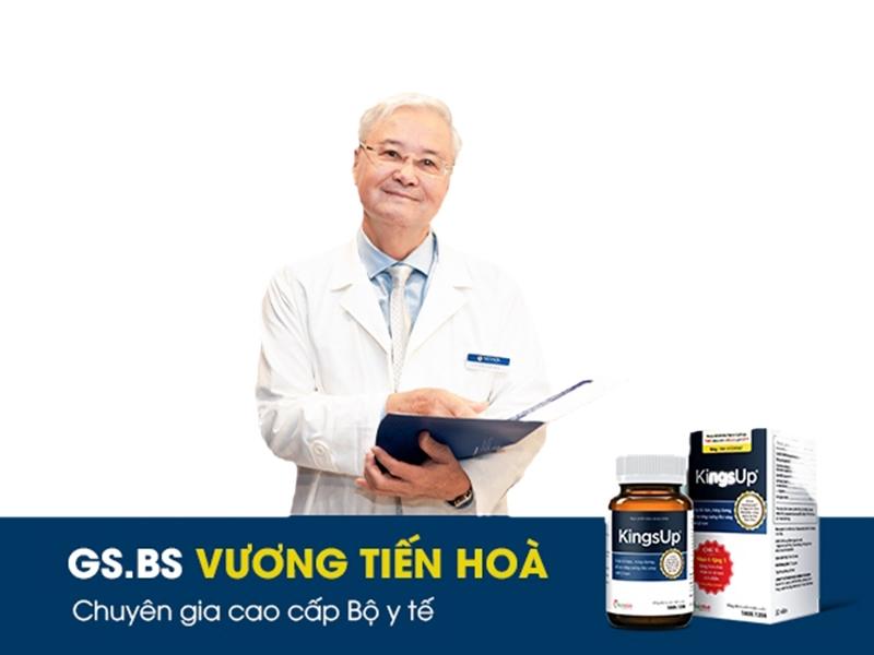 KingsUp được nhiều chuyên gia đánh giá cao trong việc nâng cao sức khỏe sinh lý nam giới