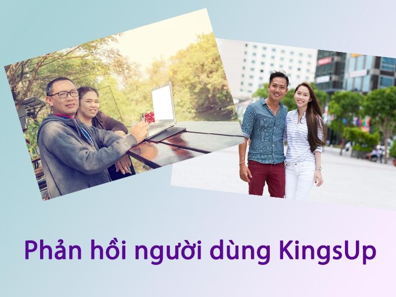 Phản hồi từ người dùng về tác dụng của KingsUp