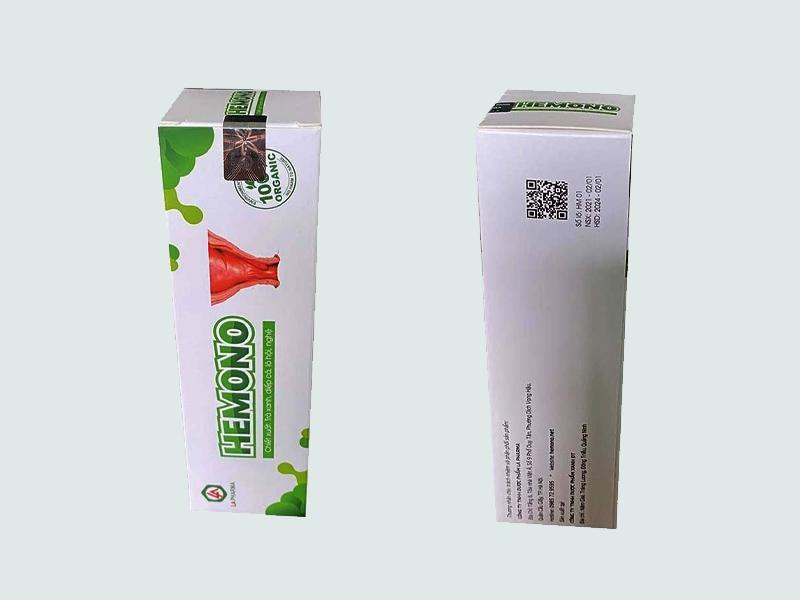Hemono Gel hiện đang được bán tại hầu hết các nhà thuốc trên toàn quốc