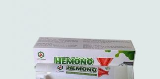 Sản phẩm bôi trĩ Hemono Gel