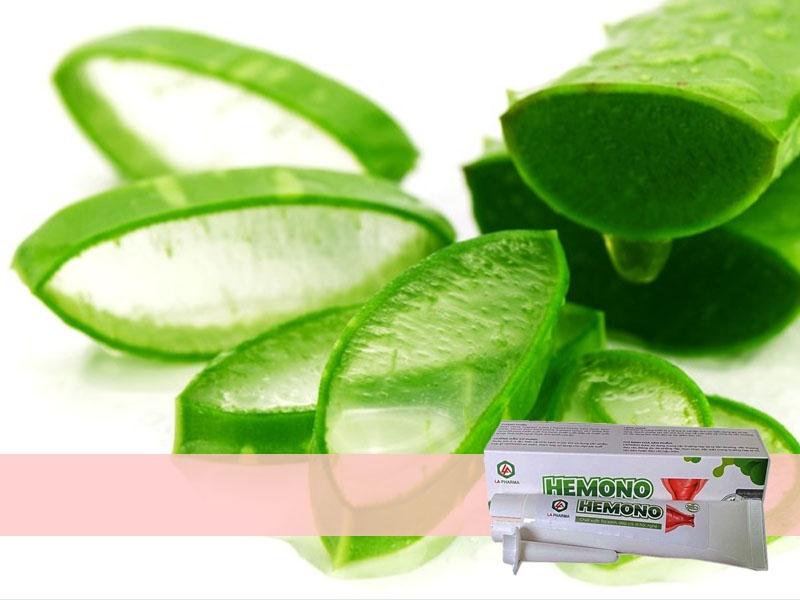 Thành phần nha đam có trong sản phẩm Hemono Gel
